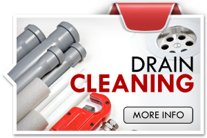 Drain cleaning widget