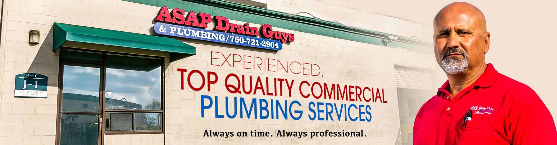 commercial plumbing maintenace