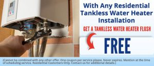 tankless water heater installation coupon san diego